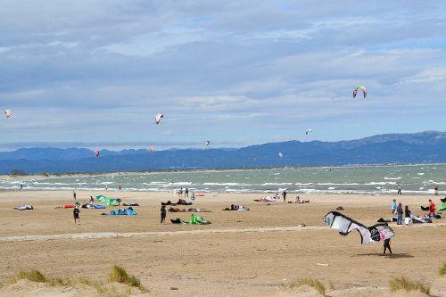Kilometerlanger Strand