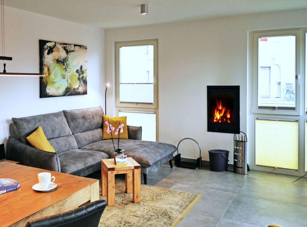 Baabe Strandvilla Luxus Ferienwohnung mit Meerblic