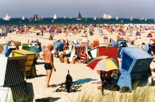 Strand von Warnem�nde / Rostock