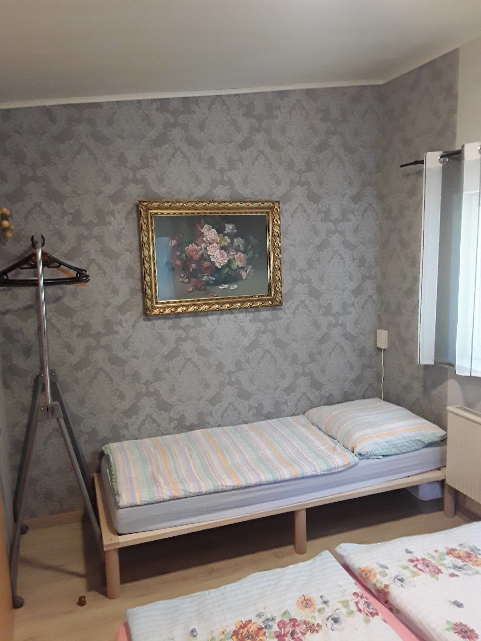 das dritte Bett im Schlafzimmer