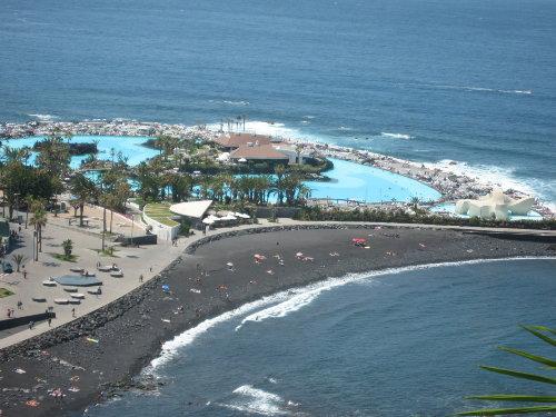 Martianez-Strand und Schwimmbecken