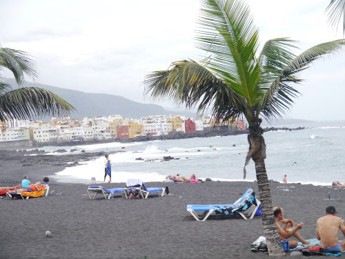 Playa Jardin mit Punta Brava