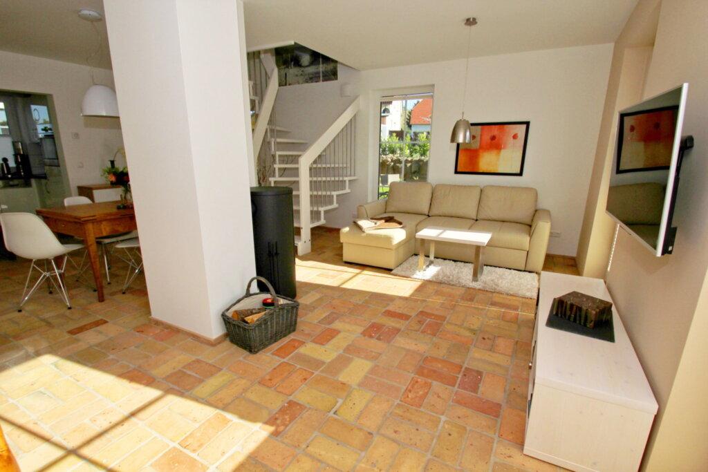 Ferienhaus Falke, Haus: 85m², 3-Raum, 4 Pers., Ter