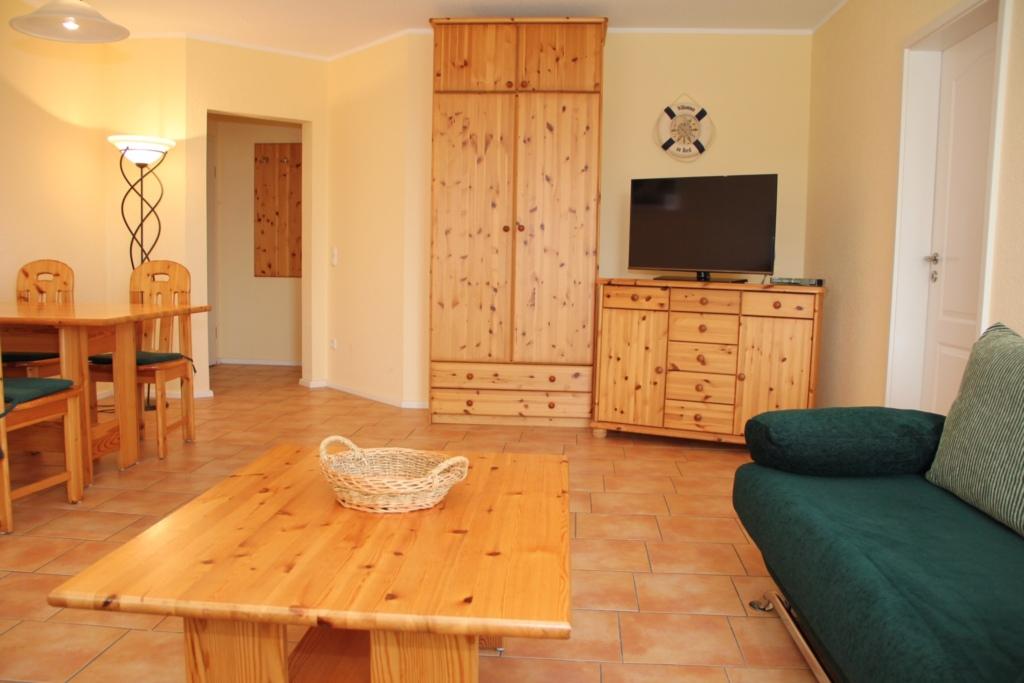 Appartement Ostseetraum - Haustiere erlaubt, 2-R-F