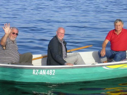 und weiter geht es mit dem Boot