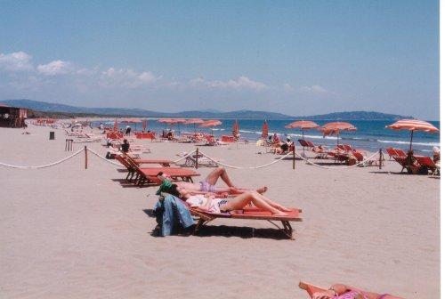Strand bei Feniglia ( Orbetello)