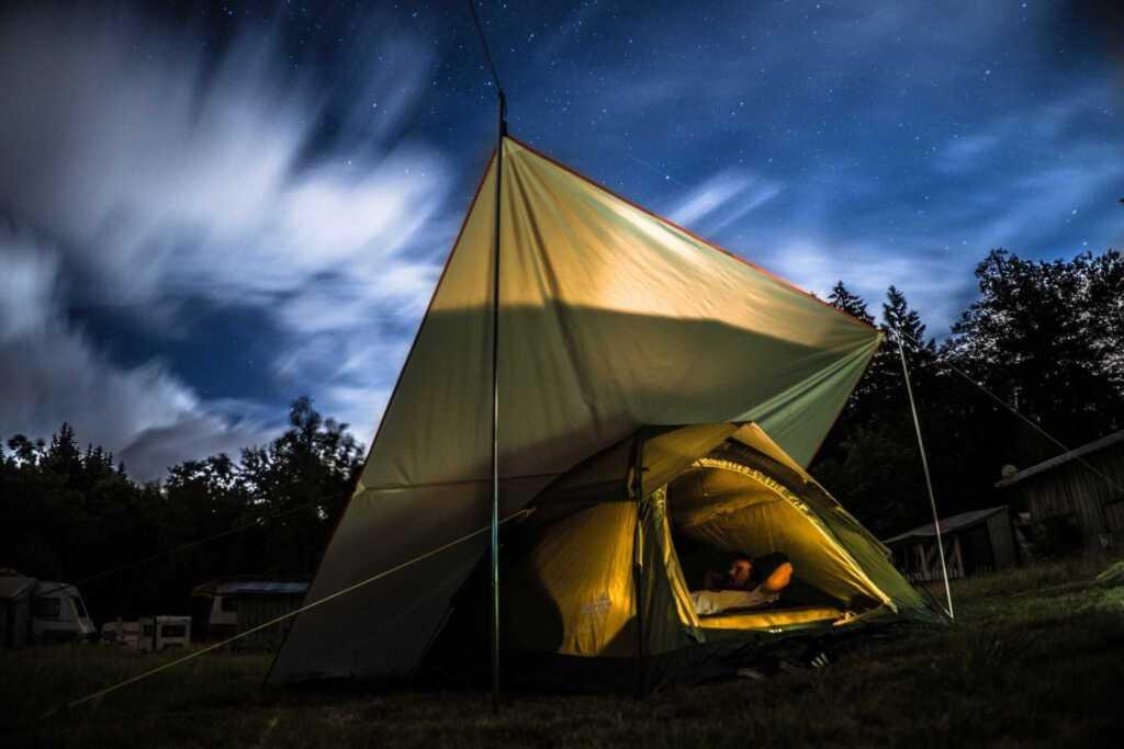 Campingplatz der Europ�ischen Bildungsst�tte f�r L