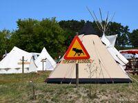 Tipi-Camp, Bussard 4 in Alt Reddevitz - kleines Detailbild
