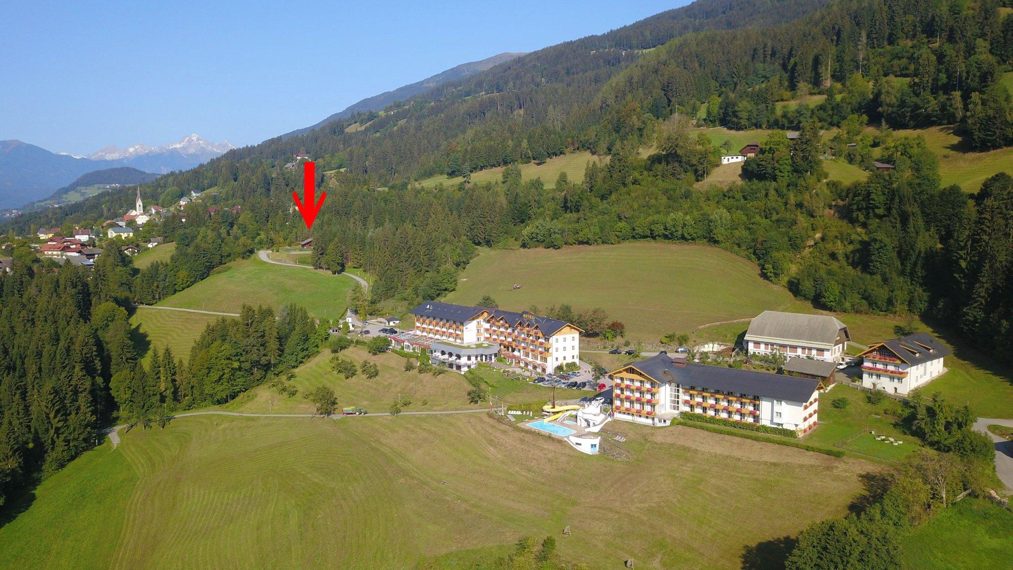 Glocknerhaus oberhalb des Glocknerhof