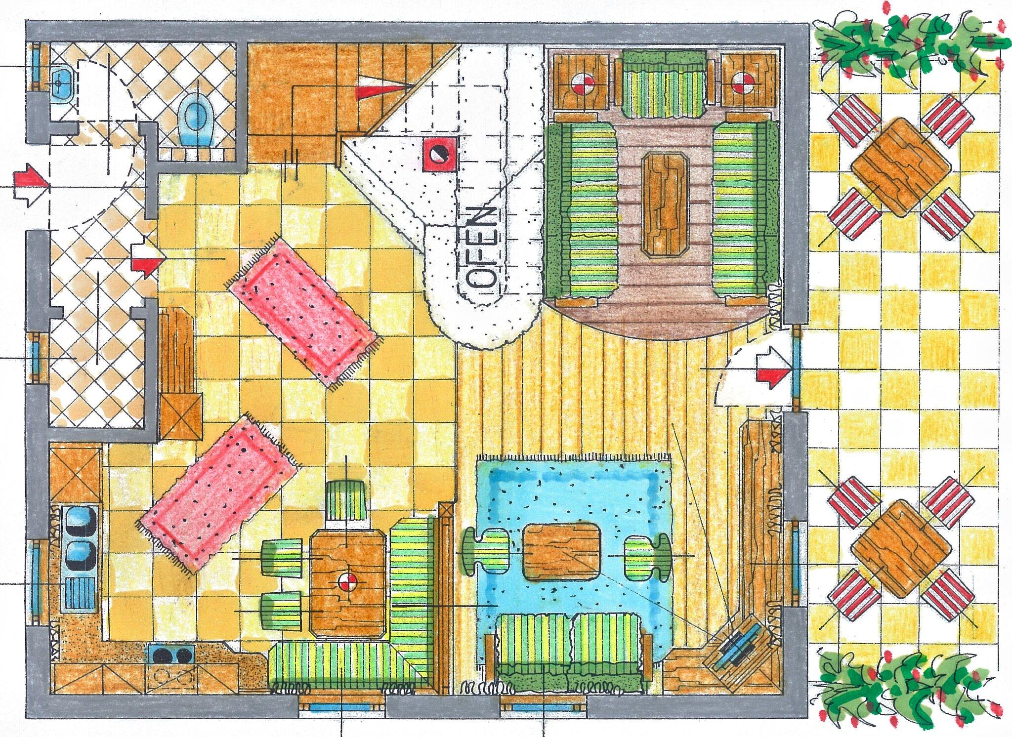 Schlafzimmer im Glocknerhaus OG