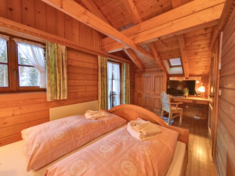 Schlafzimmer im Glocknerhaus Obergeschos