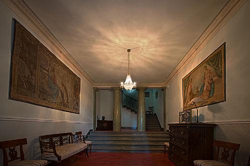 Eingang von Villa Humbourg