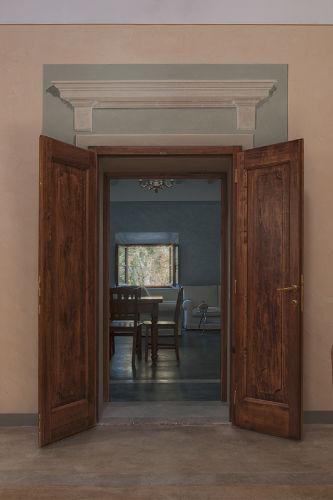 Tür zwischen den 2 Apartments