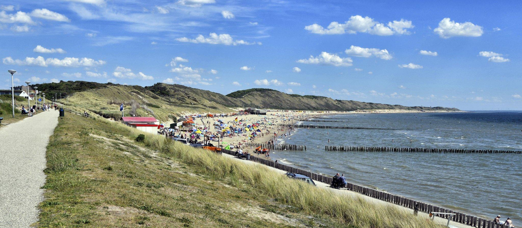 Umgebung von Ferienwohnung Noordervroon Zoutelande