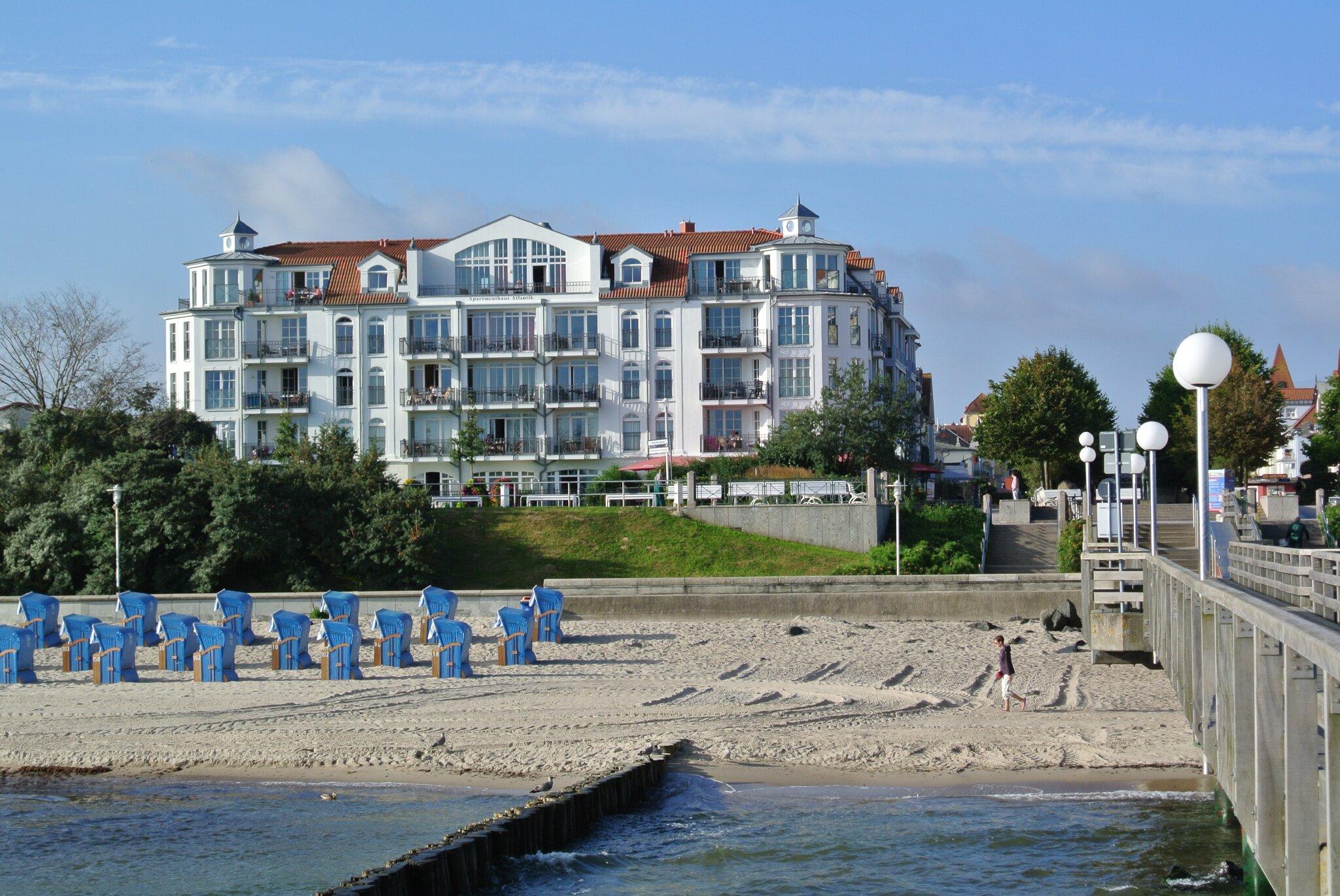 Apartmenthaus Atlantik-direkt am Strand
