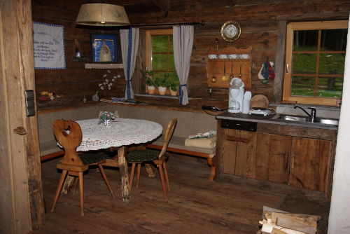 Urig rustikale Wohnküche