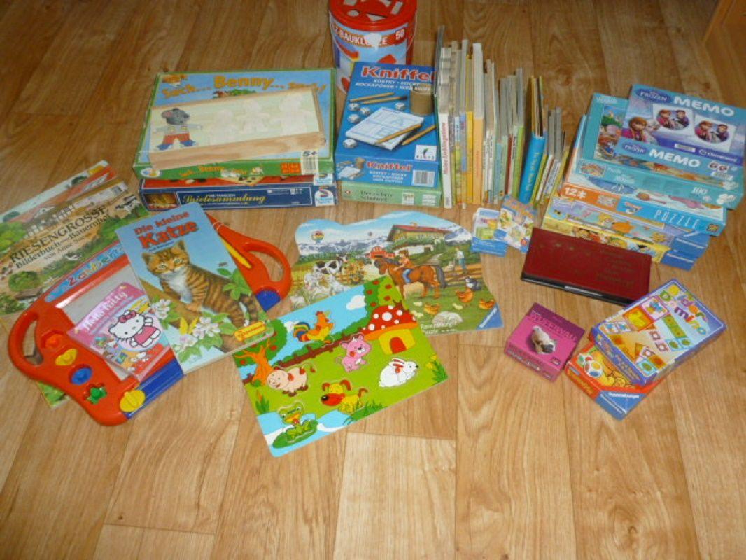Kinderspielzeug im Haus