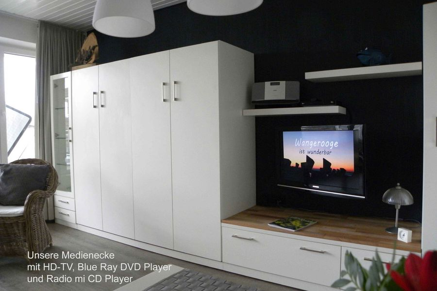 HD Flachbild TV,Blu-ray DVD u. CD Player