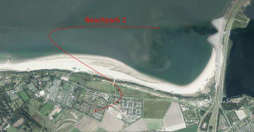 Umgebung von Ferienwohnung Beachpark 1-No 3 Nordsee