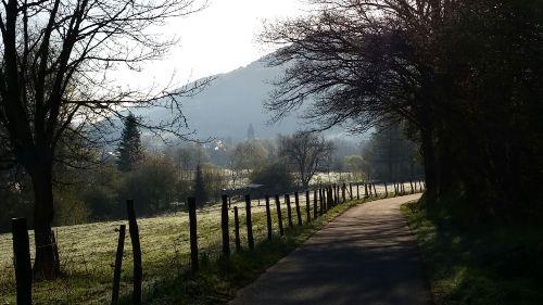 Wanderweg durch das Lennetal