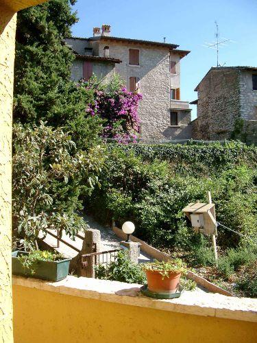 Blick ins Dorf Fasano Sopran