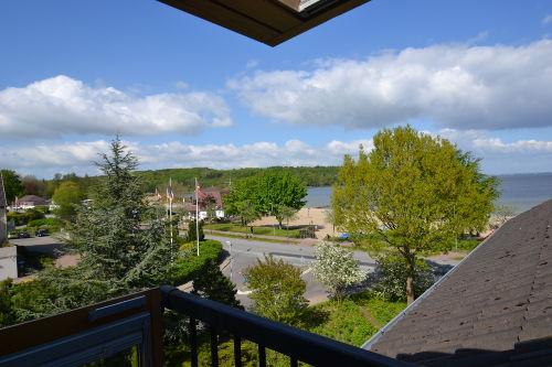 Ausblick von der Balkon-Gaube