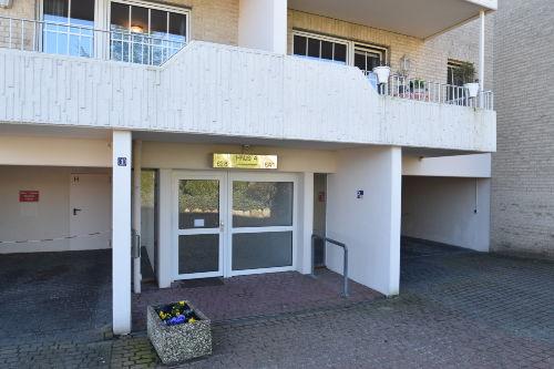 Eingangsbereich zu den Apartments