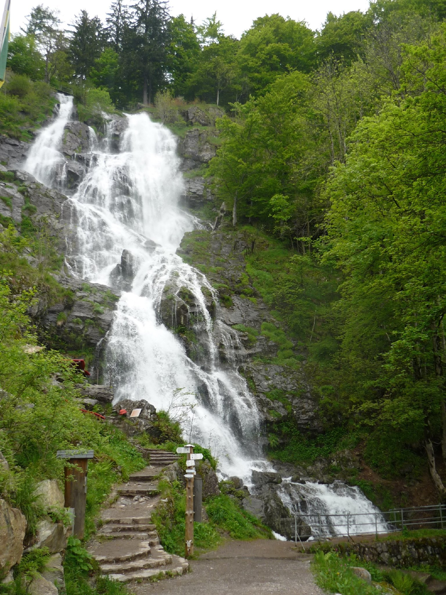 höchster Naturwasserfall Deutschlands