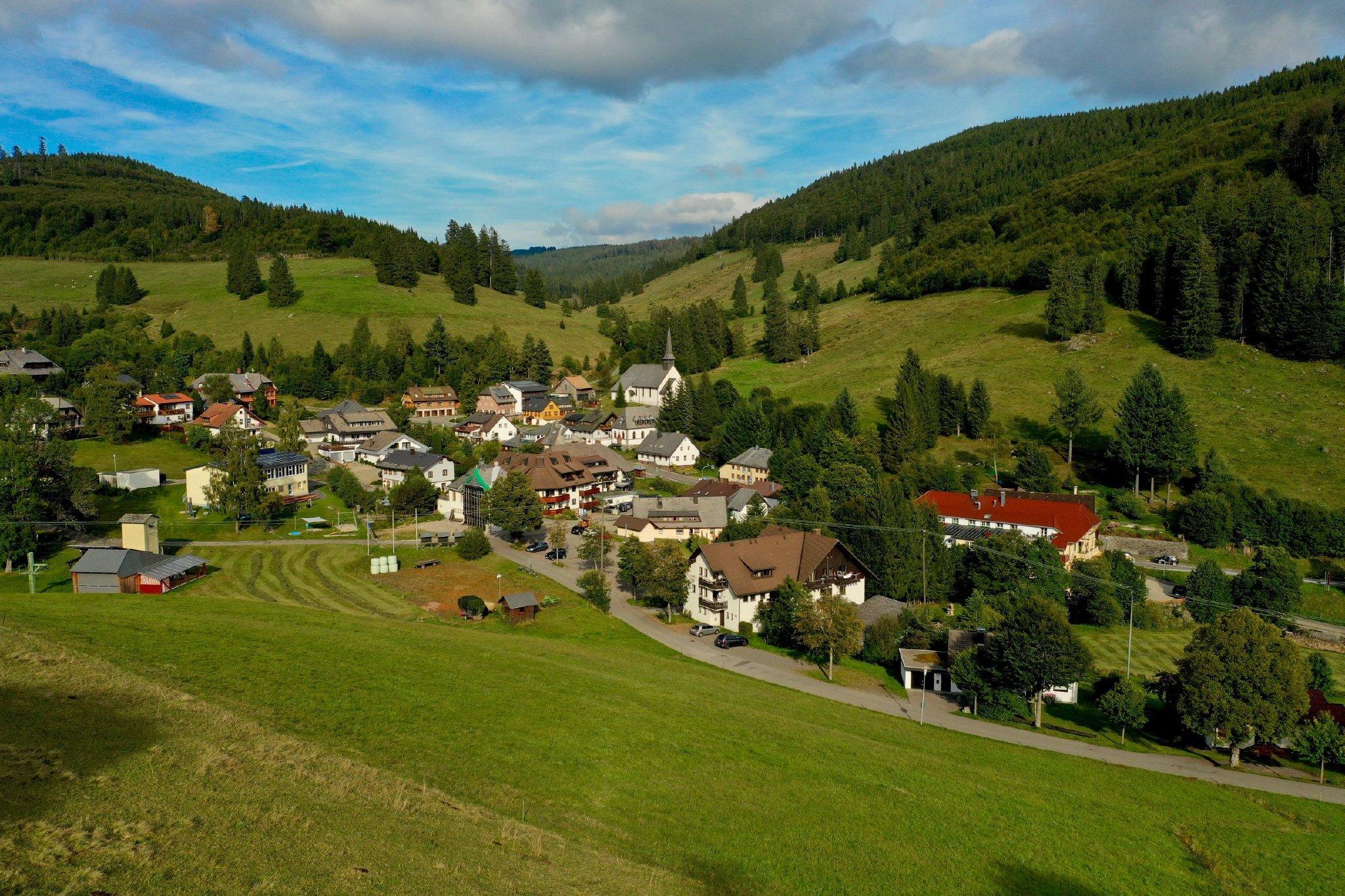 Muggenbrunn das kleine Schwarzwalddorf