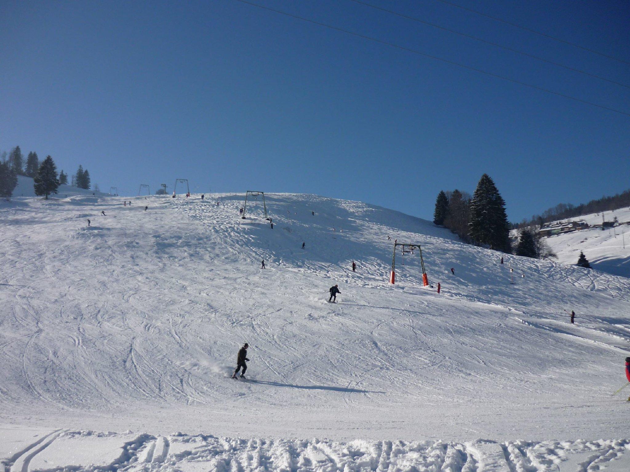 Skihang direkt am Haus