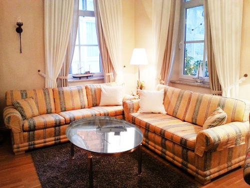 Englische Couch im Wohnzimmer