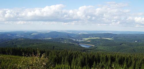 Blick vom Auersberg (1019 m)
