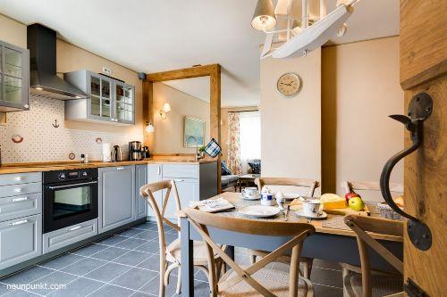 Essplatz in der Küche