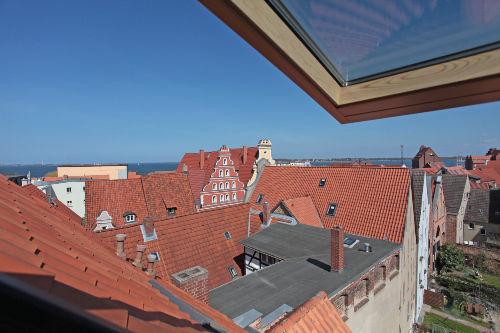 Ausblick Altstadt Stralsund