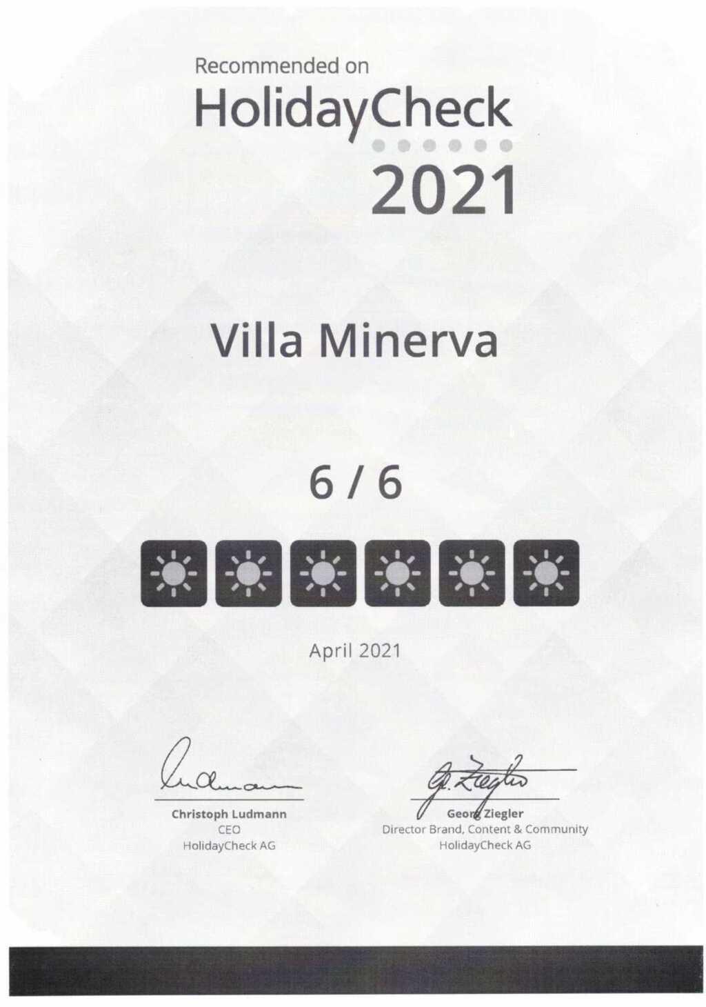 'Villa Minerva' Ferienwohnung 04, Minerva Ferienwo
