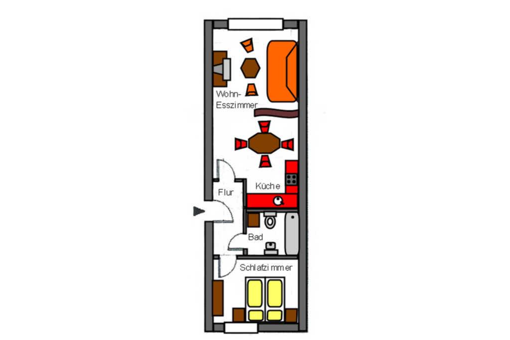 1. Apartments 'Im Herzen der Stadt' - Knopfstra�e
