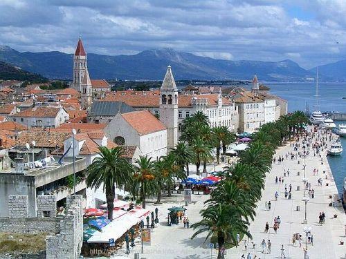 Trogir-UNESCO-Stadt 5Km vom Haus entfern