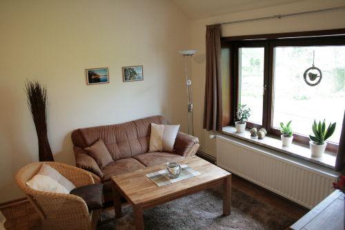 Sitzecke im Wohn-/Schlafzimmer