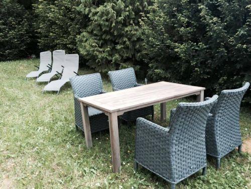 Terrasse zum sonnenbaden und relaxen