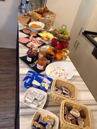 Frühstück optional zubuchbar