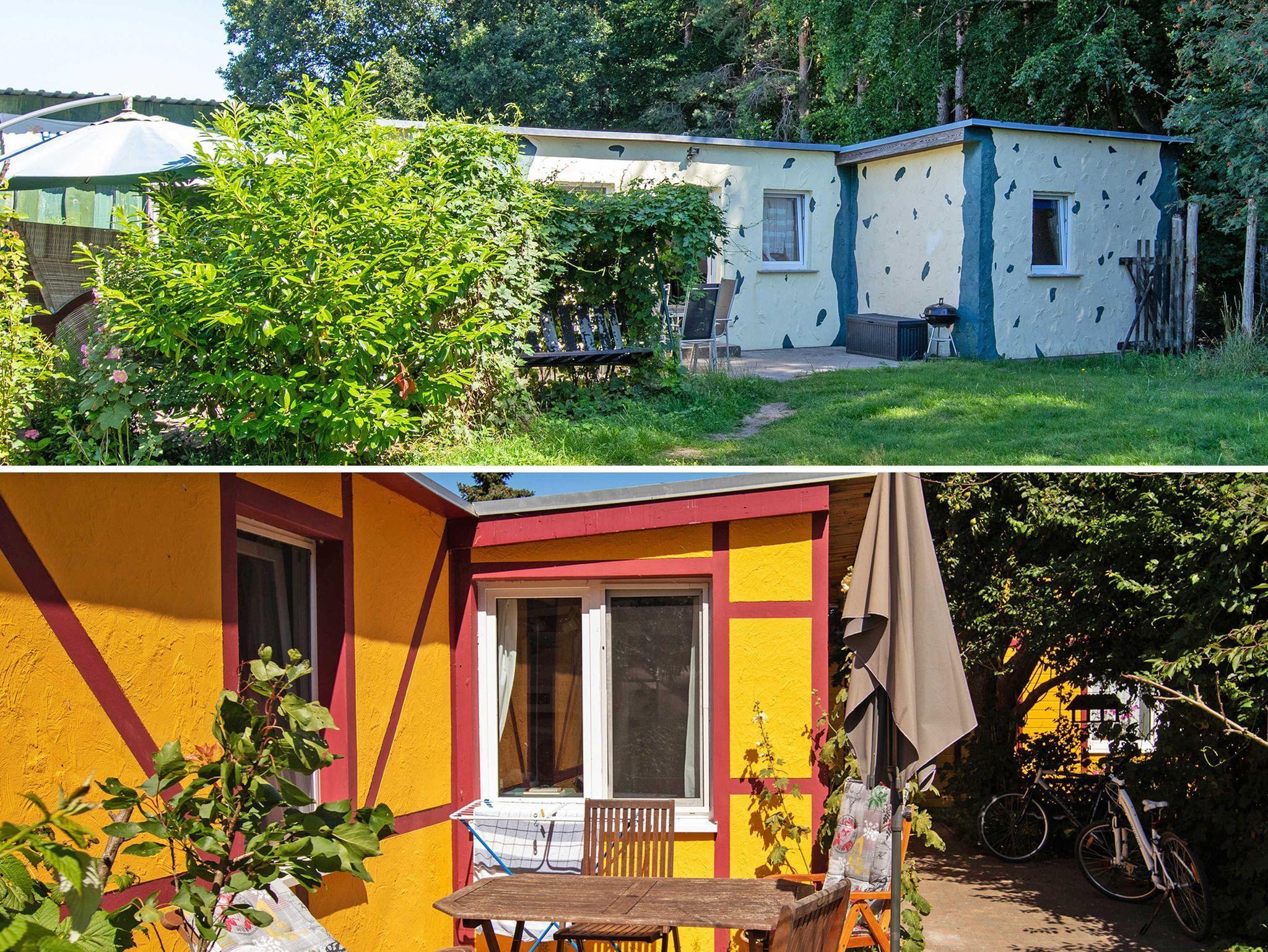 Ferienhaus mit maritimer Einrichtung, Ferienhaus