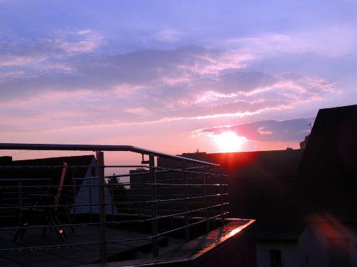 Festungsblick Abendsonne
