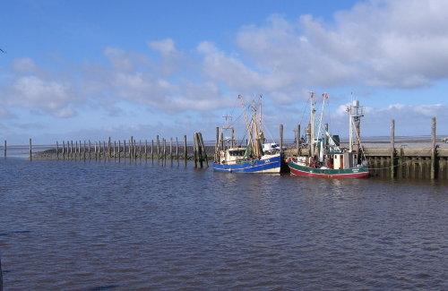 Schlüttsiel Hafen gehört zu Ockholm