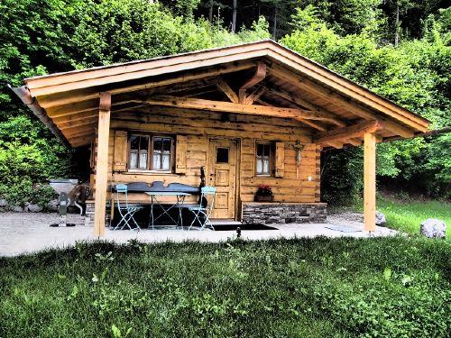 Detailbild von Ferienwohnungen Zugspitze - Almhütte