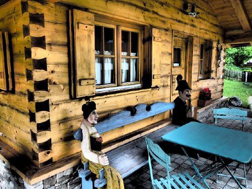 Umgebung von Ferienwohnungen Zugspitze - Almhütte