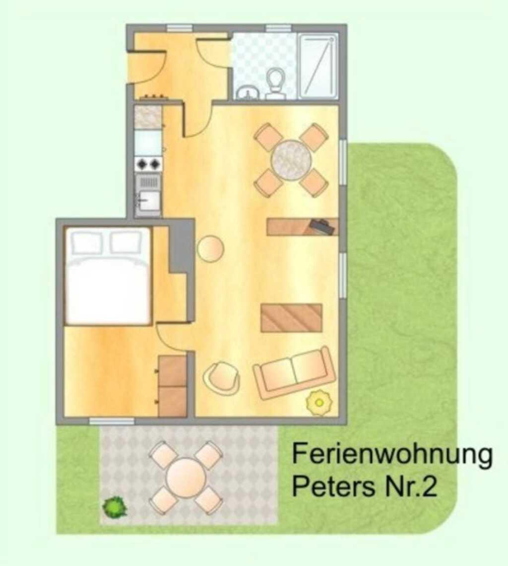 Ferienwohnungen Peters, Ferienwohnung Peters Nr.2