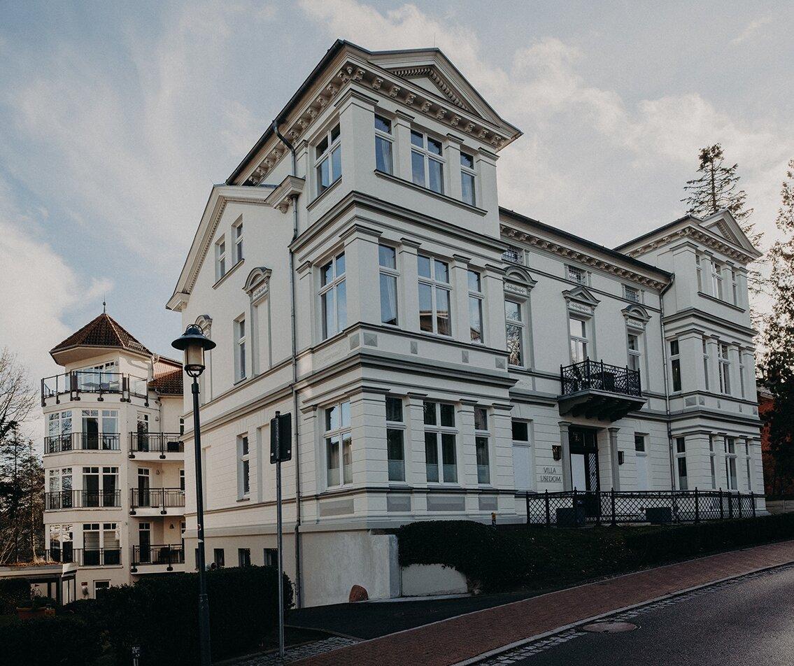 Ansicht historische Villa Usedom