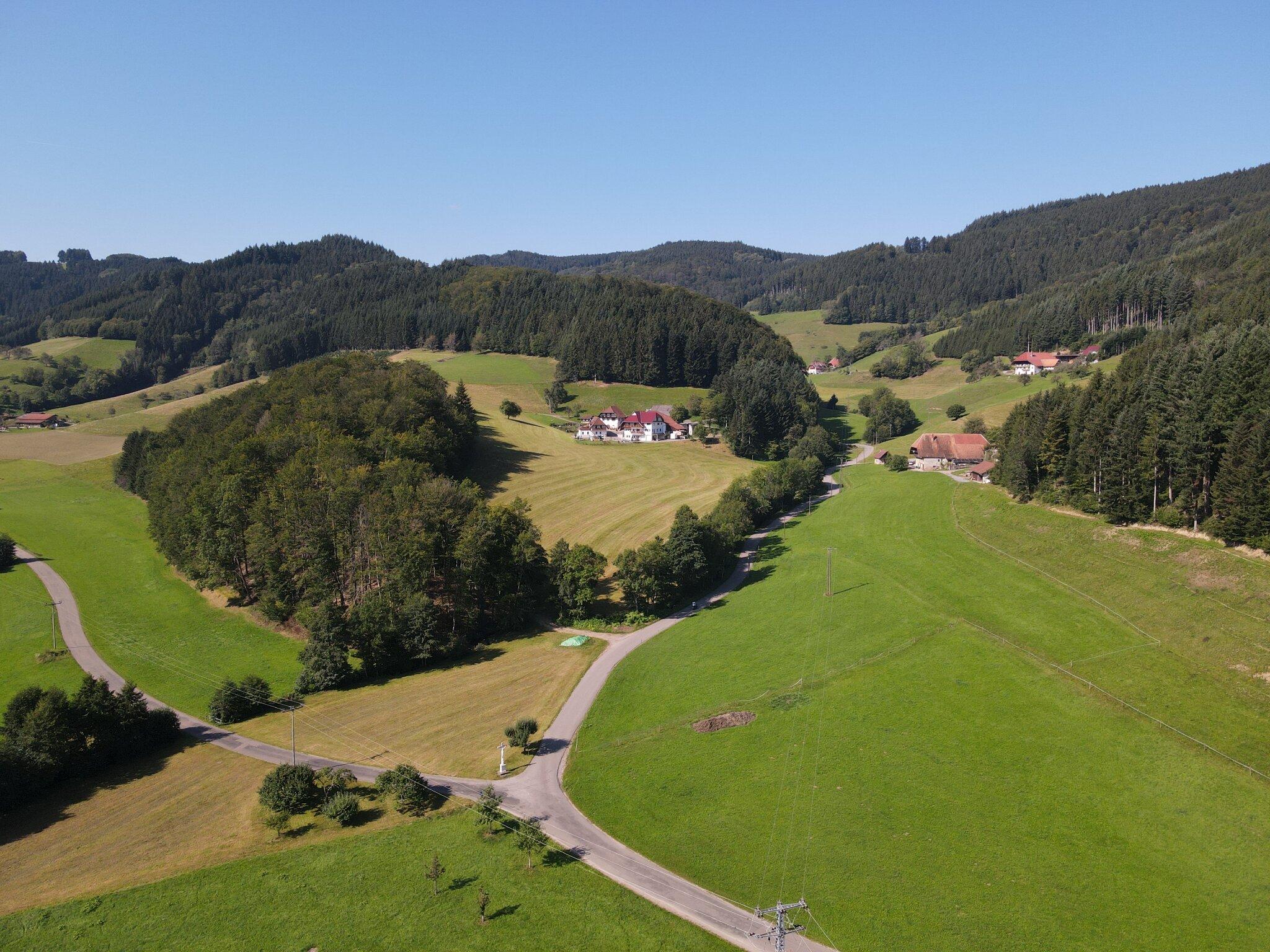 Umgebung von Ferienwohnung Oberhubhof