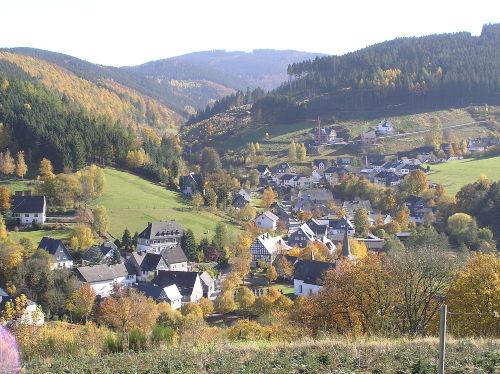 Umgebung von Ferienwohnung Sternberg - Wohnung Berg