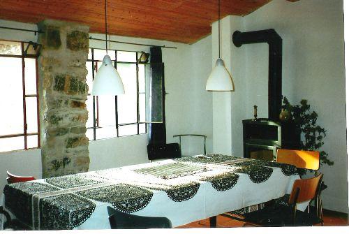 Wohn- und Esszimmer im Untergeschoss